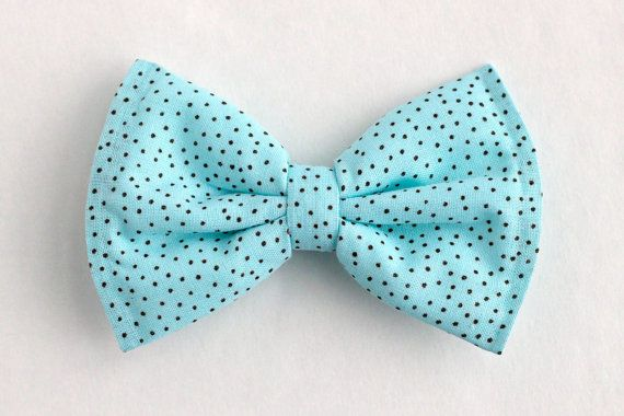 ef8c08464c25 Boys Bow Tie Light Blue Turquoise Polka Dot by lollyludesigns, $6.95 ...