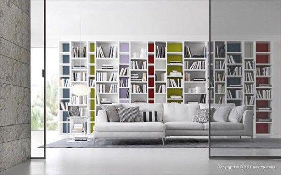 Living Room Storage Idea by Presotto Italia Storage/ working space
