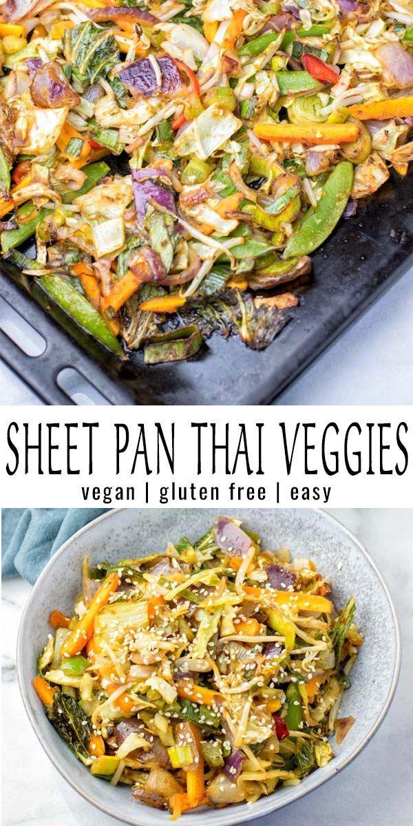 Sheet Pan Thai Vegetables
