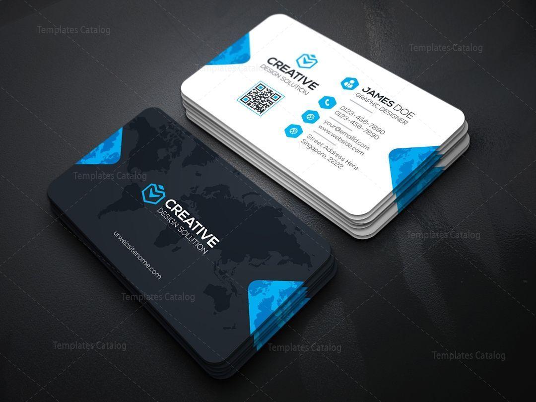 Make Your Custom Creative Tech Business Cards Printing Business Cards Creative Templates Company Business Cards Free Business Card Templates