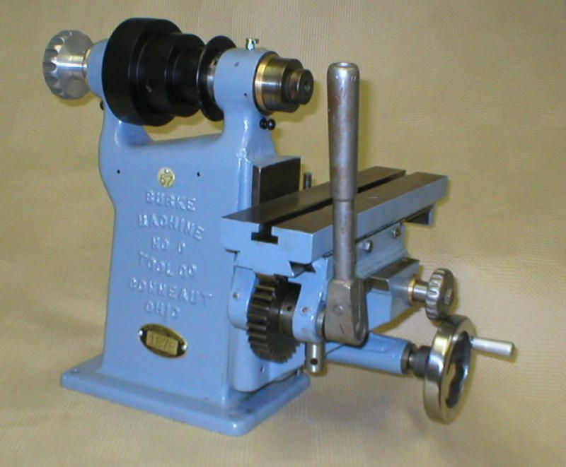 Burke No.0 Horizontal Milling Machine