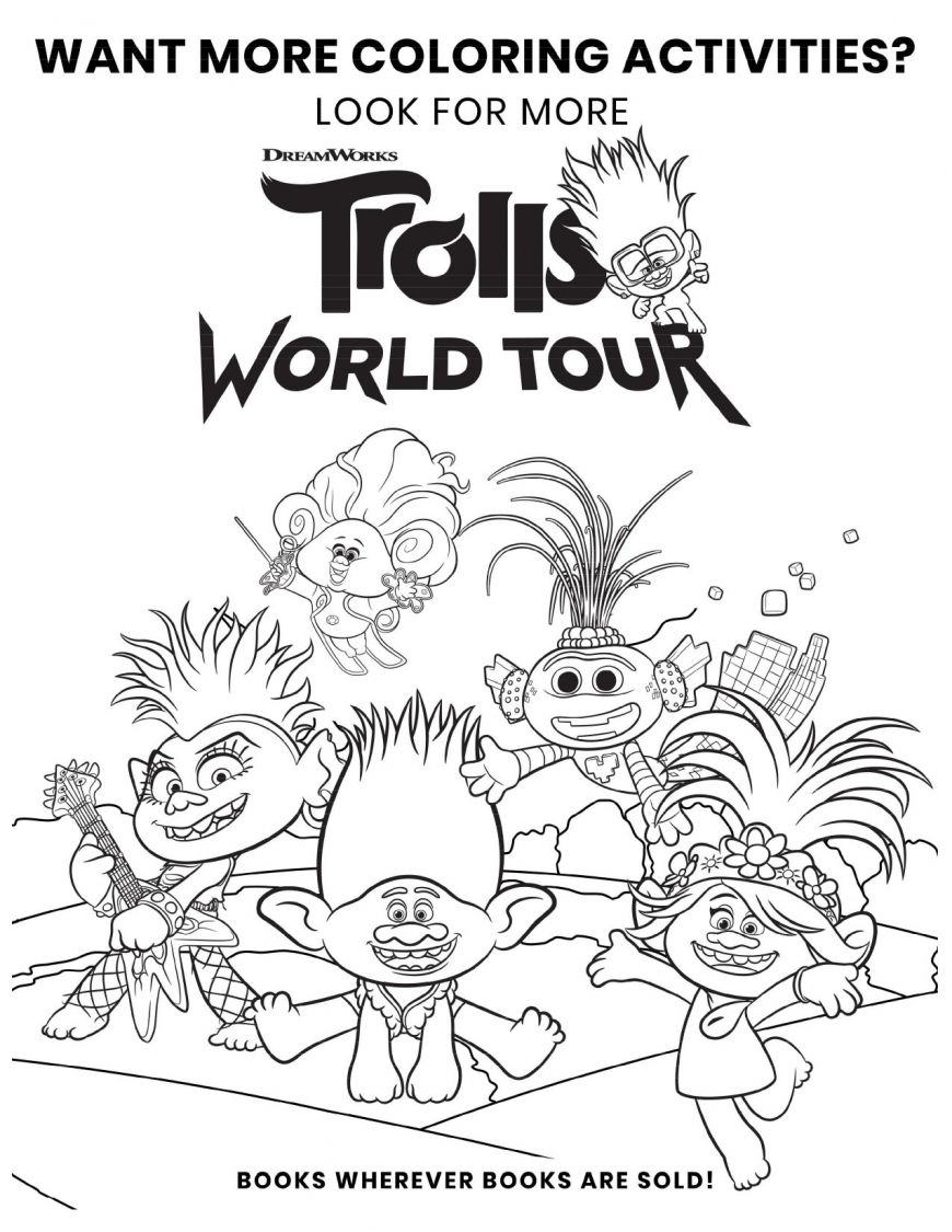 Free Printable Trolls 2 Queen Poppy Coloring Page Poppy Coloring Page Monster Coloring Pages Disney Coloring Pages Printables