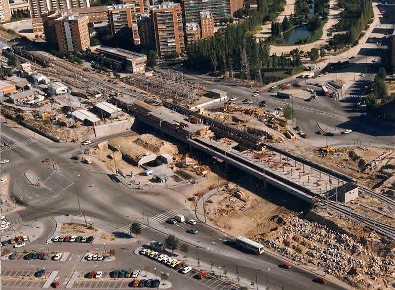Remodelacion del intercambiador de aluche 1985 mi for Piscina el espinillo