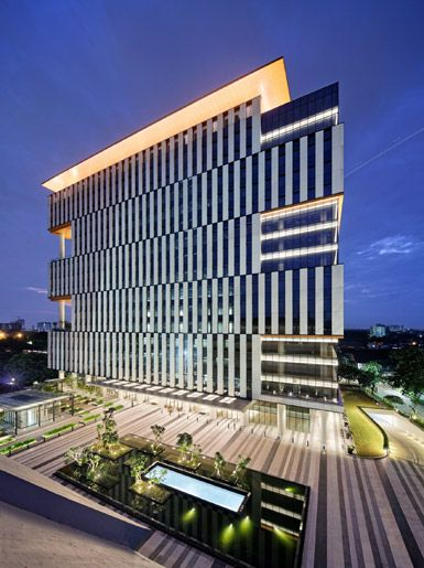 Tower 9 By Broadway Malyan In Jakarta Indonesia Smart Building Architecture Office Architecture