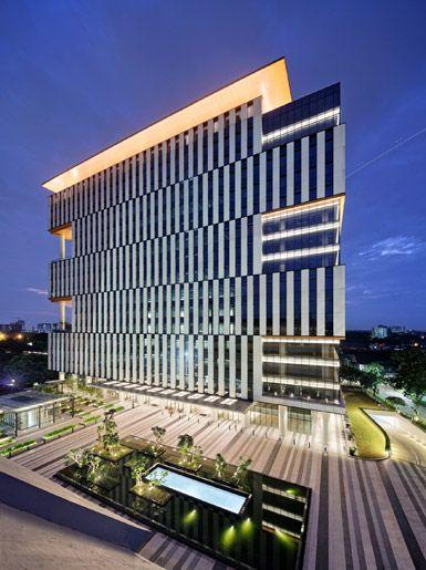 Broadway Malyan Completes In Jakarta Smart Building Architecture Building Architecture