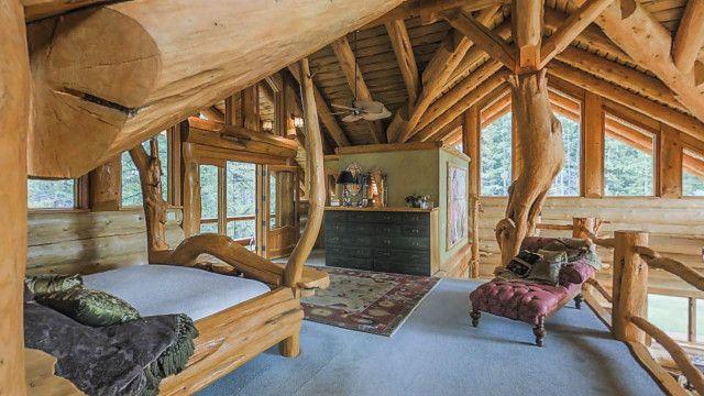 Tower Log Home Design