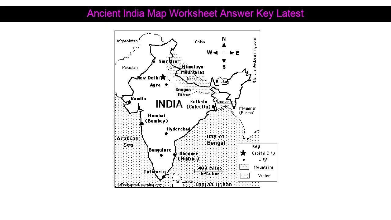 Ancient india map worksheet Wonderful