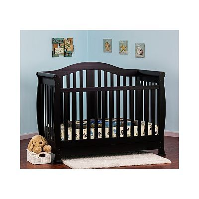 Dream On Me Addison 5 In 1 Convertible Crib With Storage Convertible Crib Cribs Nursery Furniture Sets