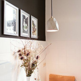 Hängeleuchte Beton Oktagon | design3000.de