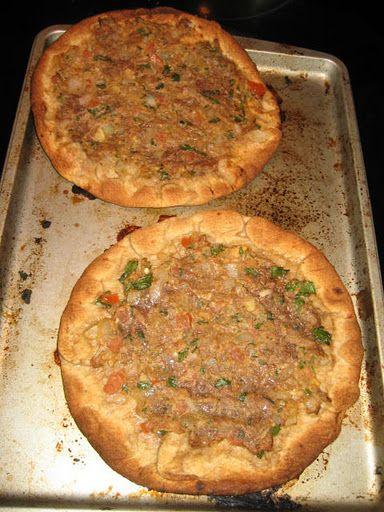 Lahmakun (Turkish Pizza)