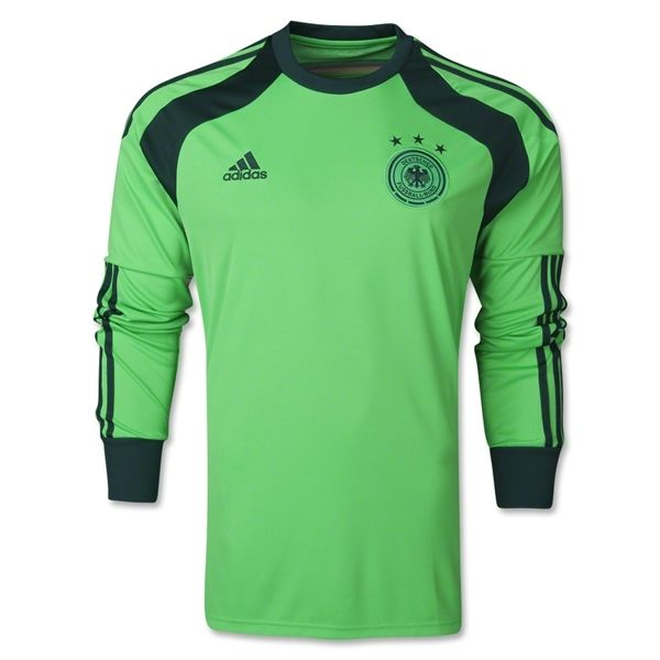 Germany 2014 Ls Home Goalkeeper Jersey Worldsoccershop Com World Soccer Shop Custom Soccer Soccer Uniforms