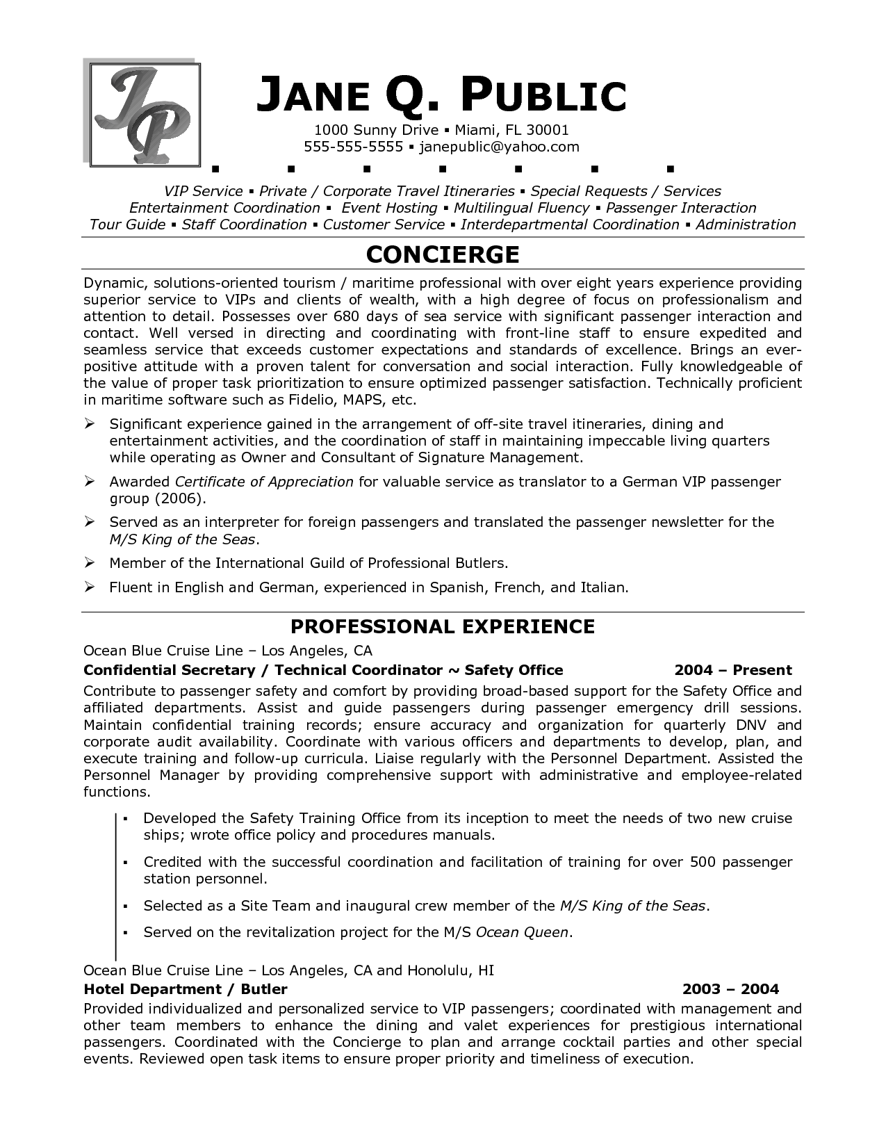 Tour Guides Resume Sample Http Www Resumecareer Info Tour Guides Resume Sample Resume Examples Cover Letter Example Basic Resume Examples