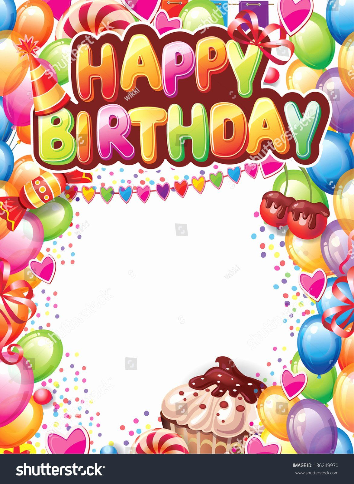birthday card free template beautiful template for happy