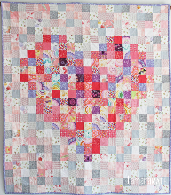 Tamara Kate Heart Baby Quilt Sew Much Love Pinterest Babies