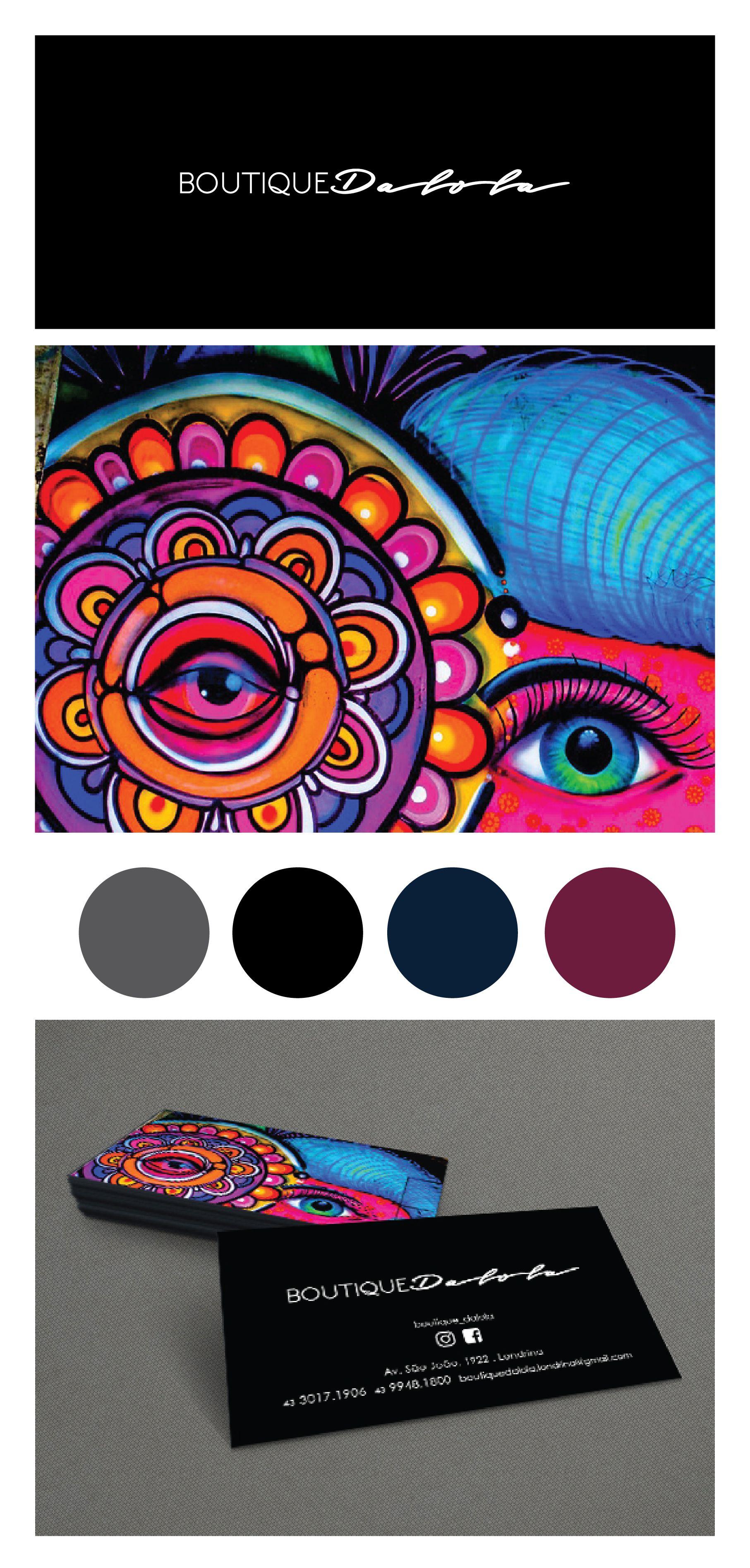 Identidade visual   Cliente: Boutique Dalola   Vanessa Balestri . Arte