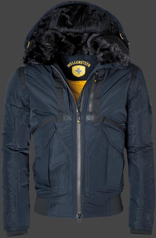 WELLENSTEYN ELEMENTS JACKE Herrenjacke Mantel Coat Gr.L