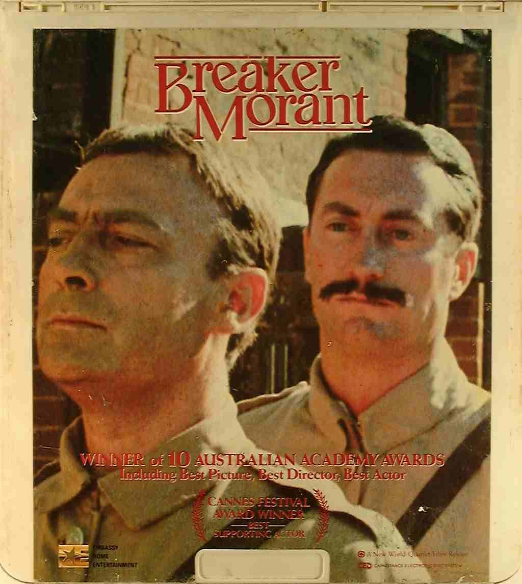 Image result for breaker morant movie poster