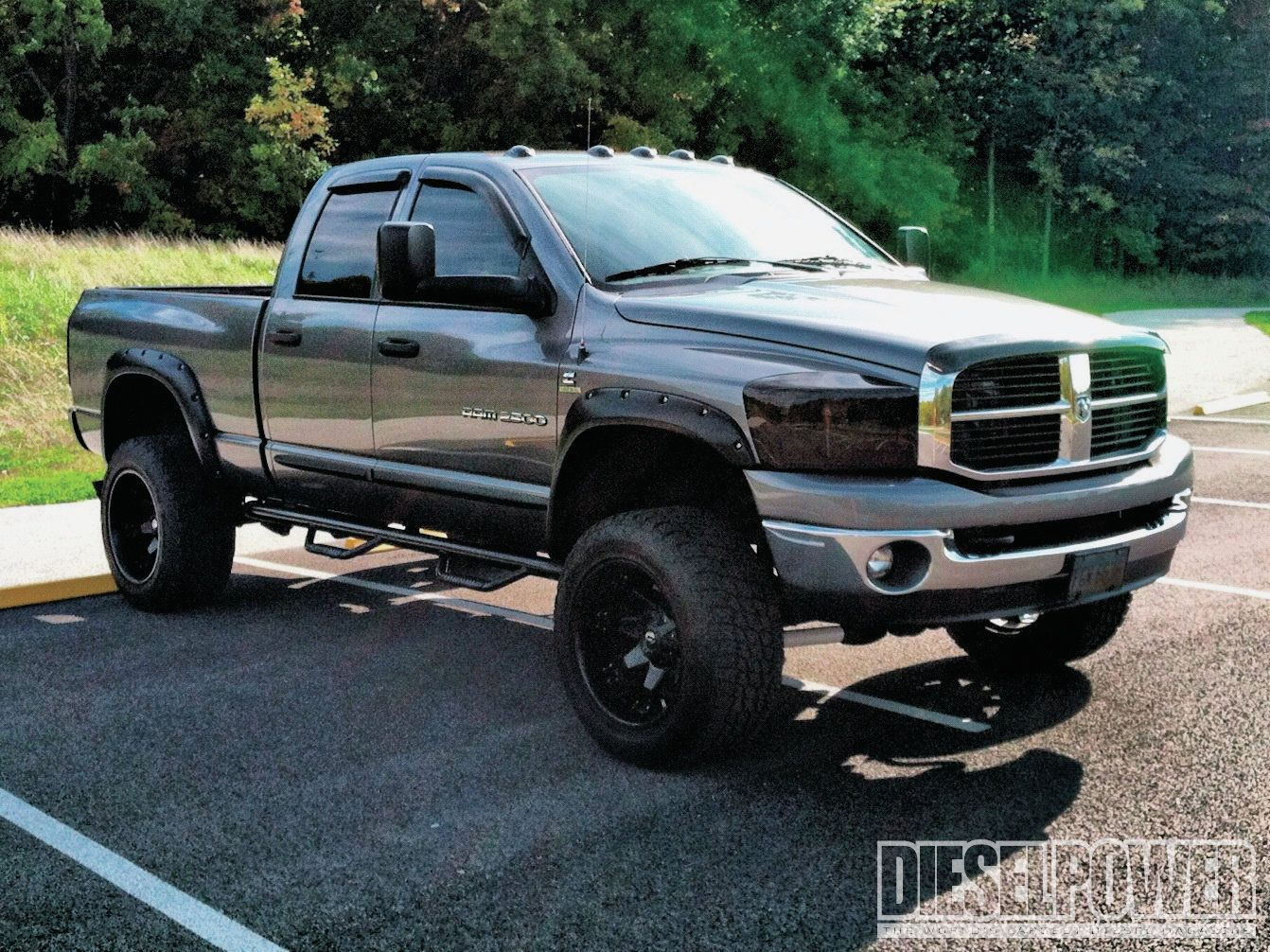 Lifted dodge ram 2500 truck