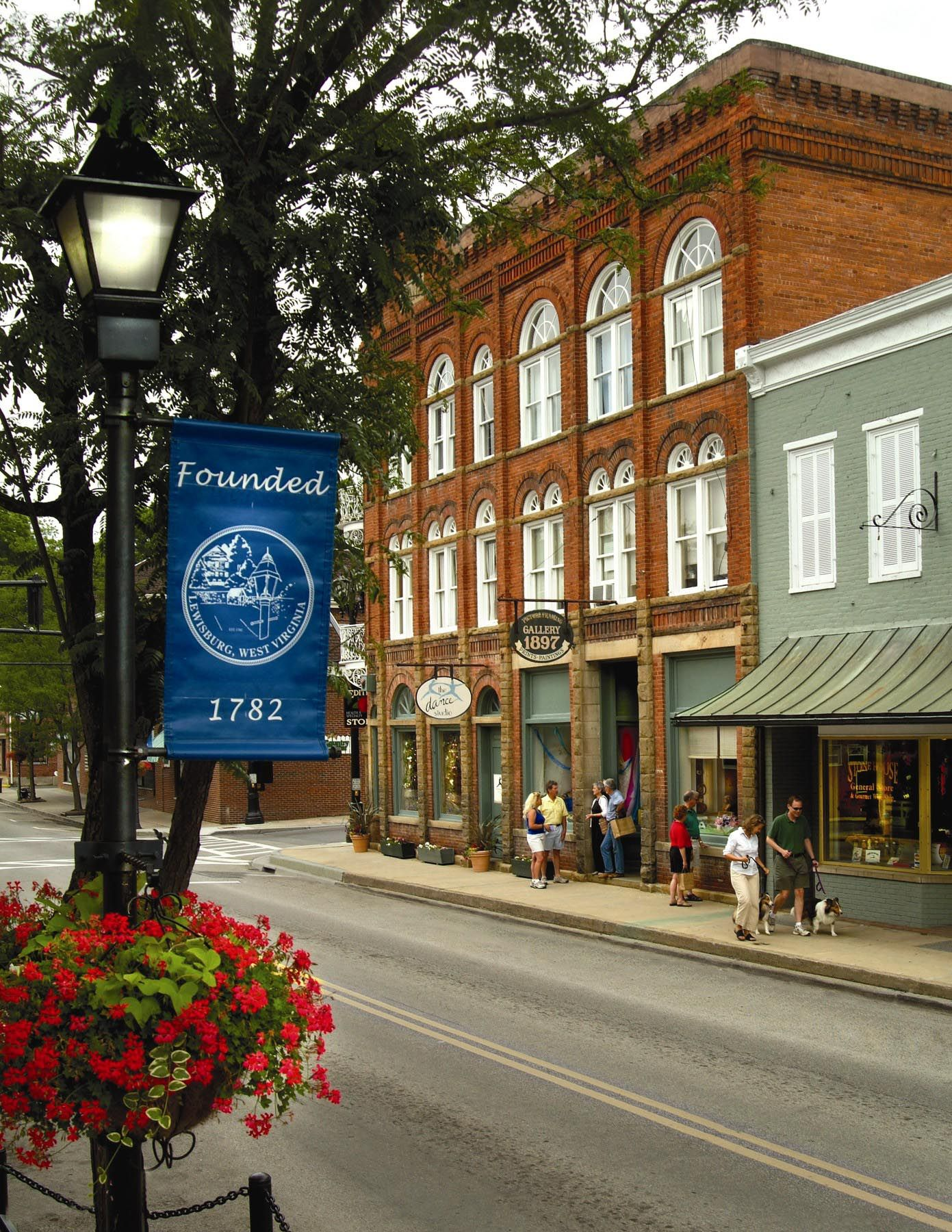 Attractions in lewisburg wv