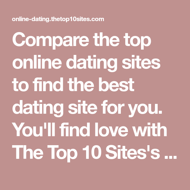 Compare dating site