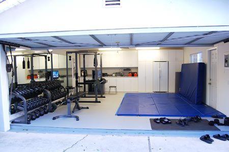garage space reimagined  cheap home gym dream home gym home