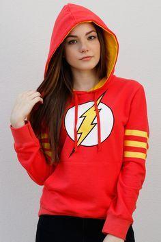 Pré Venda Moletom Oficial The Flash | Moletons | Roupas geek