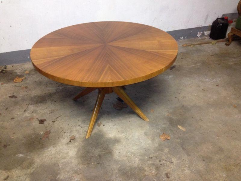 Runder Tisch Rrarität Vintage Dänisches Design 60er Jahre Ilse In