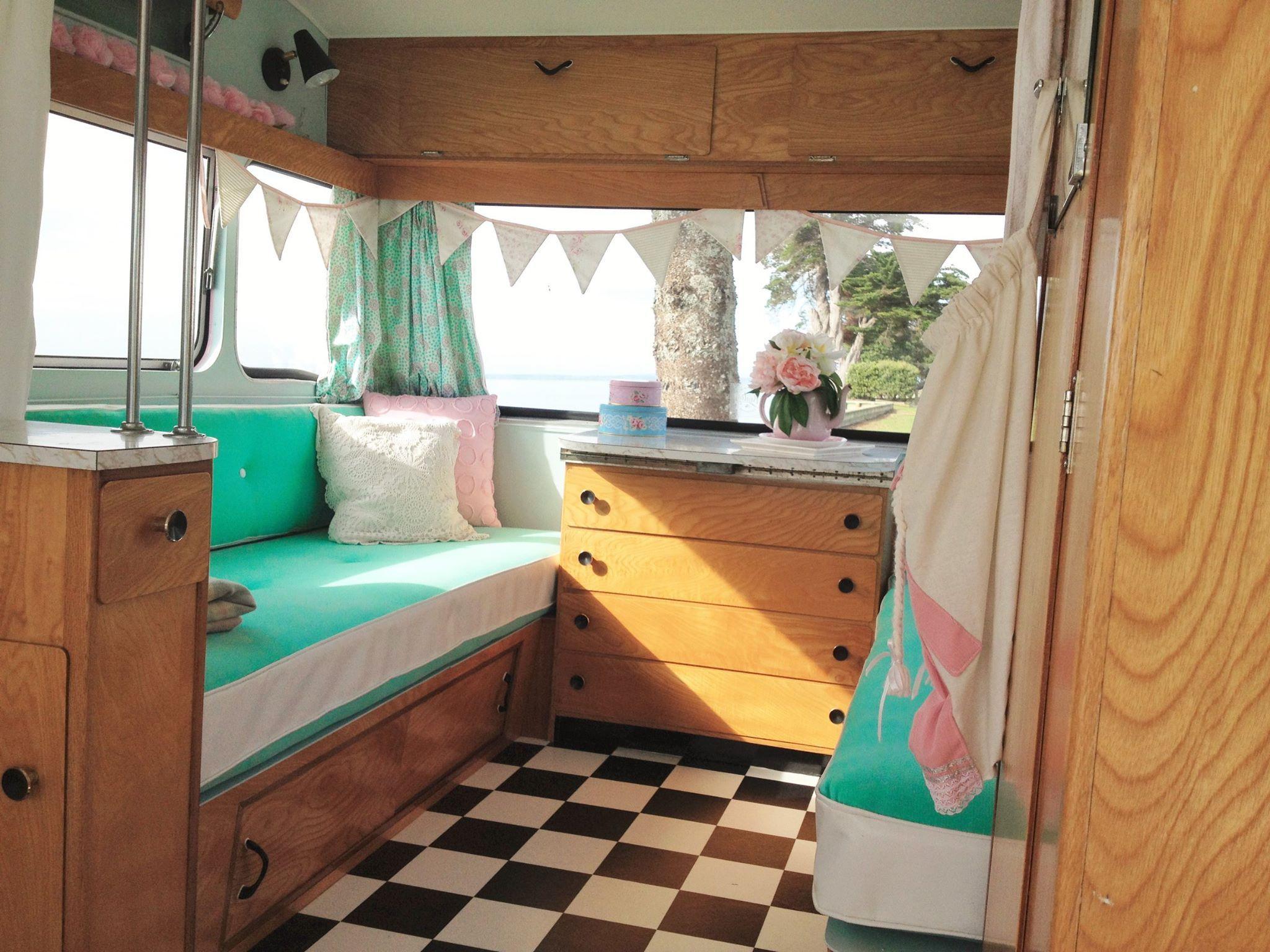Love Vintage Caravans NZ | Vintage New Zealand Caravans ...