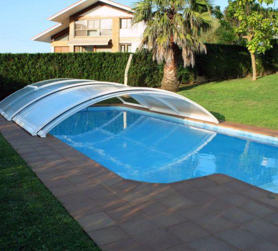 Pin de pyu construcciones en cubiertas de piscinas - Cristales para piscinas ...