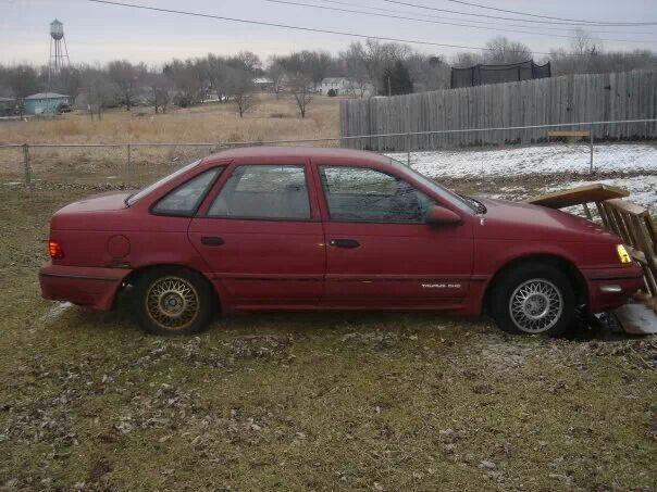 1989 Ford Taurus SHO - still sitting in my garage needing major work.