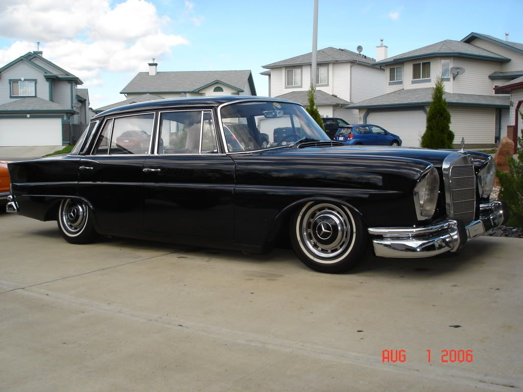 Lets see your Fintails - Mercedes-Benz Forum   Mercedes benz