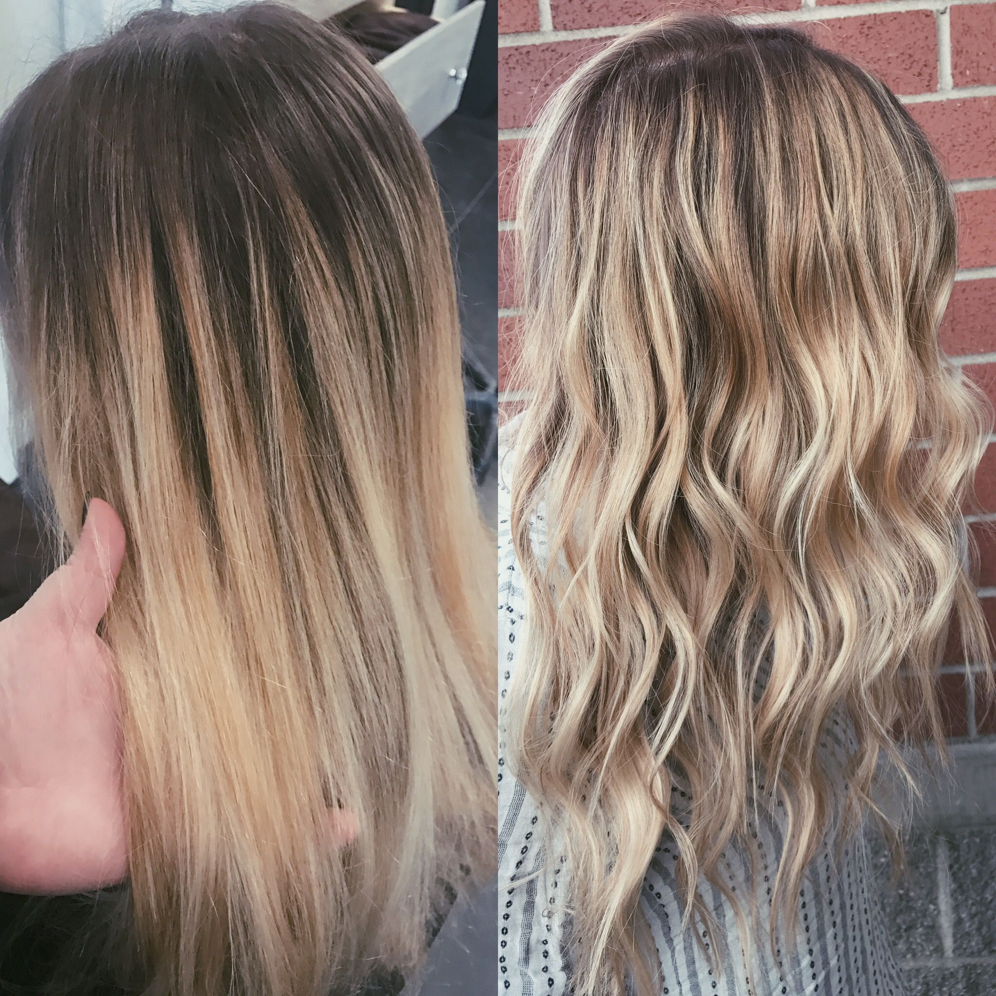 5 Months Grown Out Re Touched Lightened Blonde Balayage With