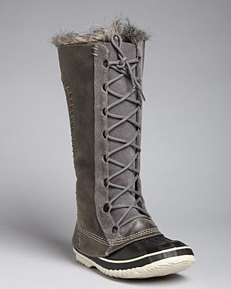 9065e1858 Sorel Tall Cold Weather Lace Up Boots - Cate the Great ...