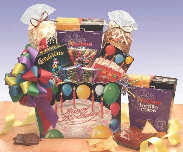 Gift Basket 86062 Happy Birthday Box
