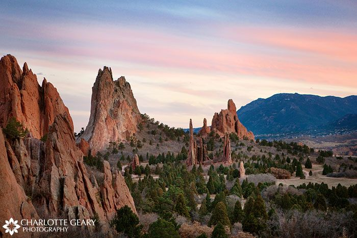 Garden of the Gods. Must visit while on the West side of the country