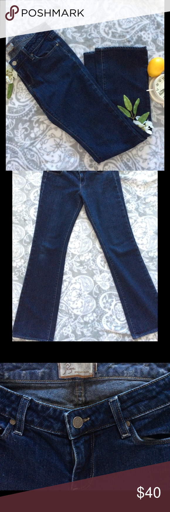 😍Paige Benedict Canyon Jeans Paige Benedict Canyon classic boot cut jeans. Excellent condition. 30 inch inseam. Paige Jeans Jeans Boot Cut