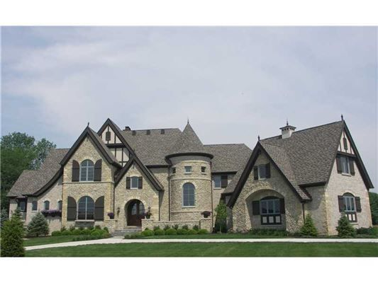 Extraordinary european style estate indiana luxury homes for European mansions for sale