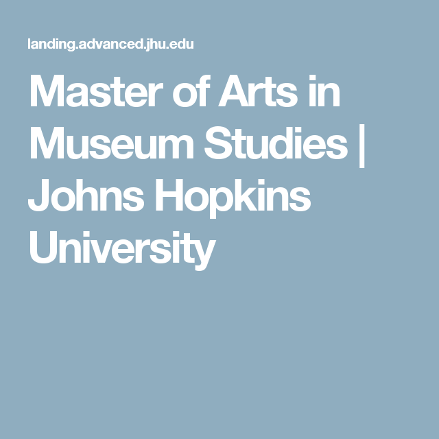 Earn An Advanced Degree In Museum Studies Or Cultural
