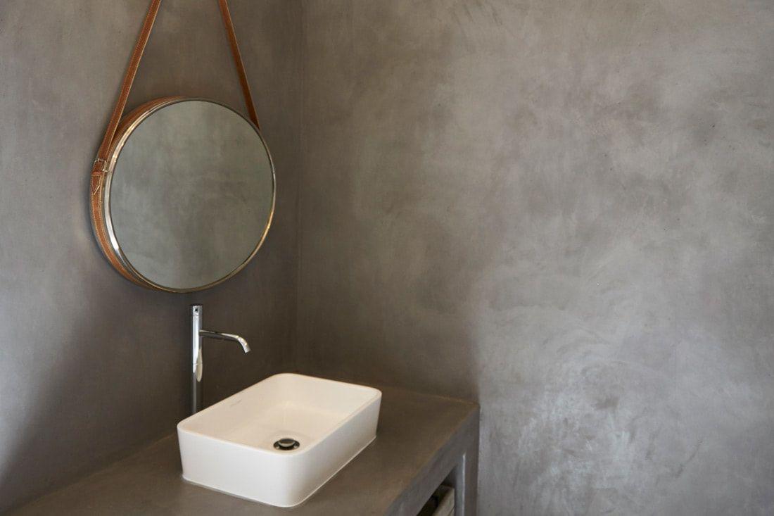 Residential Featured Romantic Organic Home Cemcrete Finish