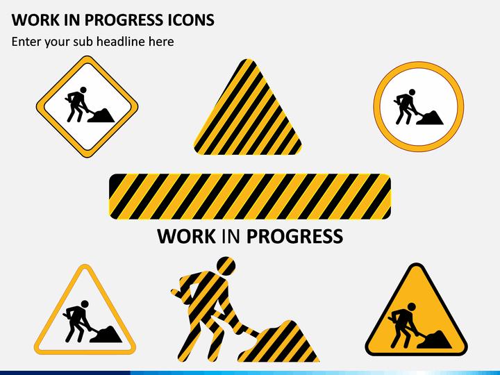 Work In Progress Wip Icons Work In Progress Icon Progress