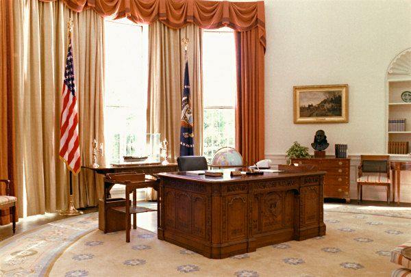 Carter Oval Office Inside The White House House Interior Decor Home Interior Design
