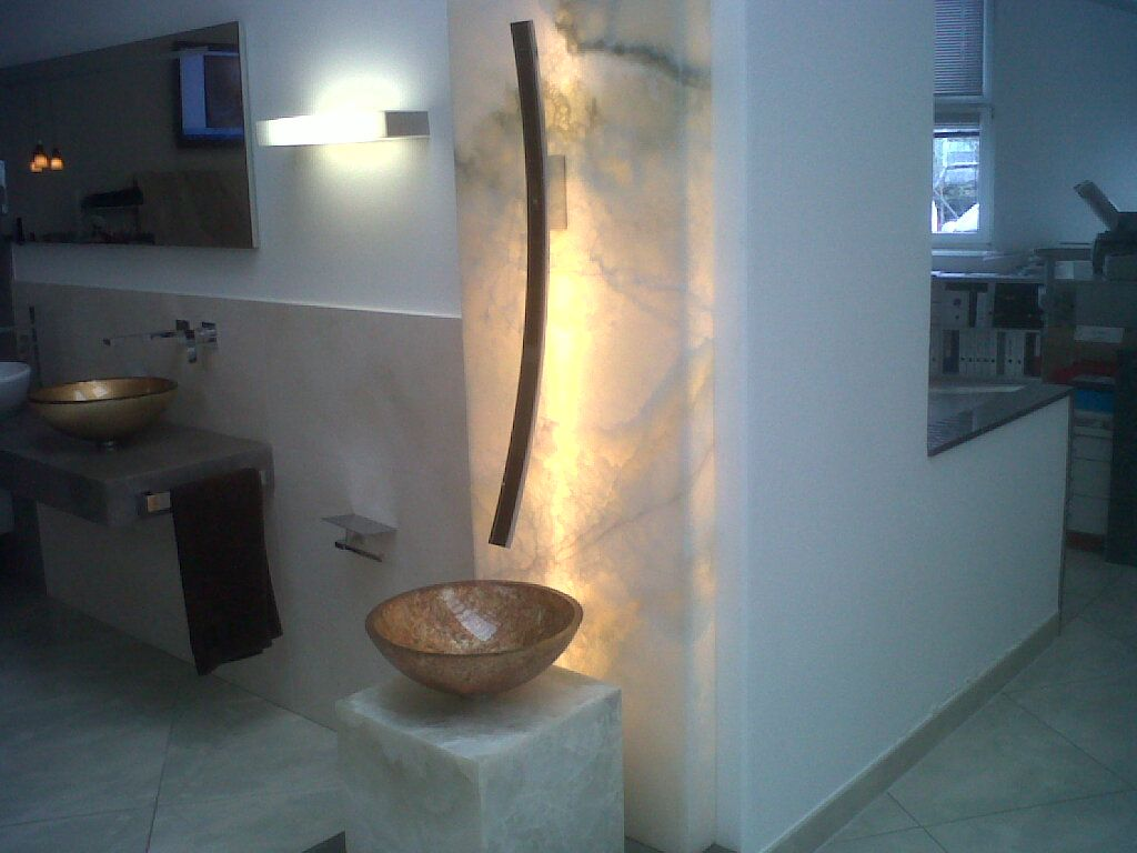 Lamp graff bathroom faucets - Graff Luna Faucet On Display At Our Distributor In Imst Austria