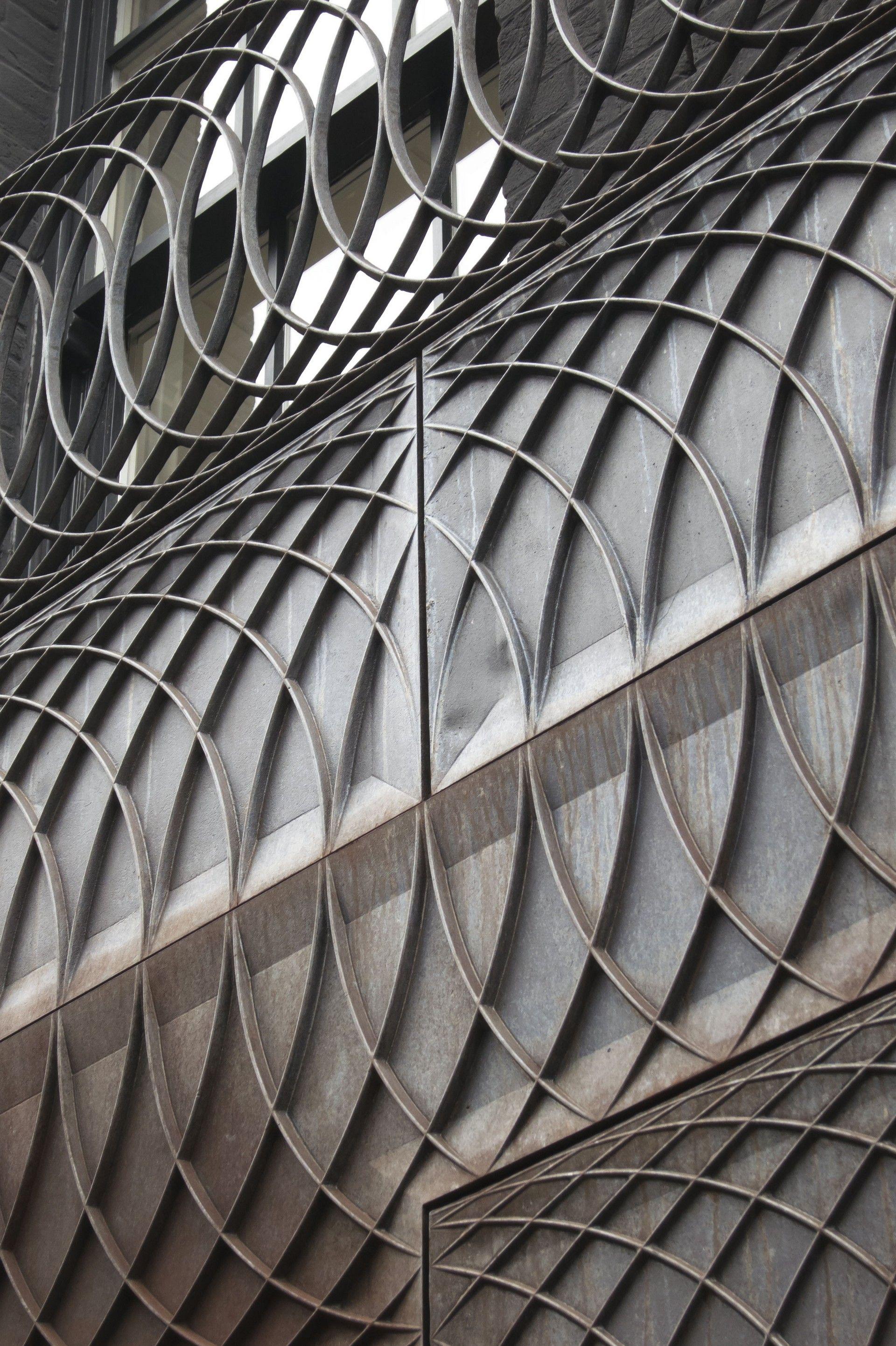Cast Iron Facade Metalwork Paul Smith Albemarle Street Mayfair London 6a Architects 2013 Paul Smith Albemarle Facade