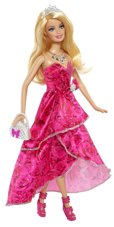 Barbie bcp32 poup e barbie princesse anniversaire - Barbie en princesse ...