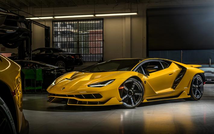 Descargar Fondos De Pantalla Lamborghini Centenario Roadster 2018