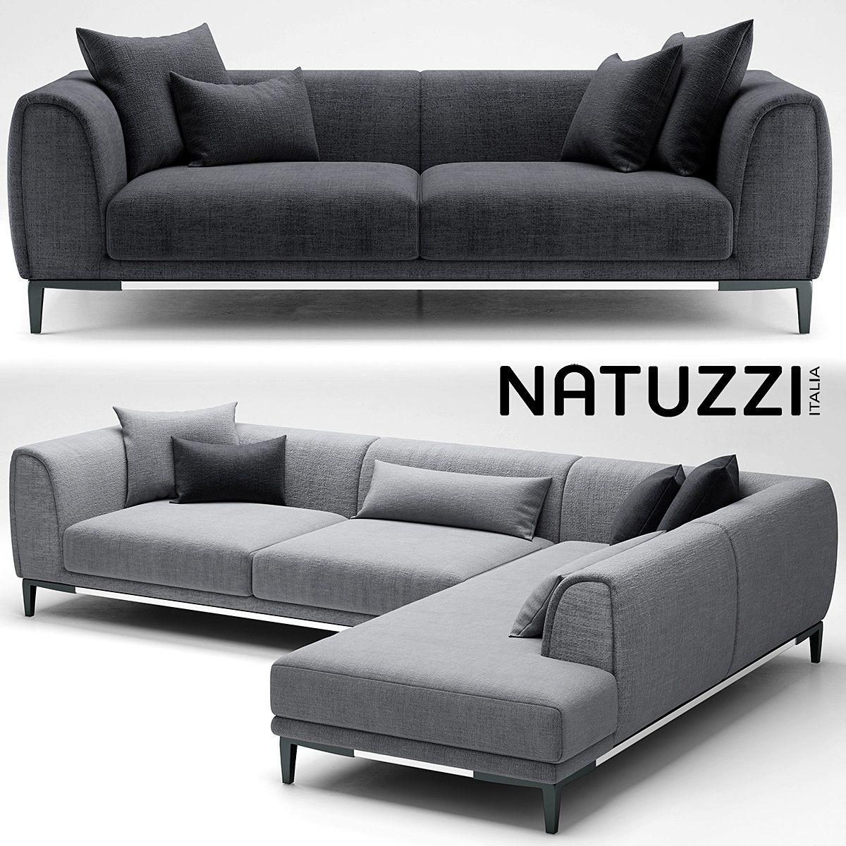Superb 3D Sofa Natuzzi Trevi Model 3D Model In 2019 Sofa Ibusinesslaw Wood Chair Design Ideas Ibusinesslaworg