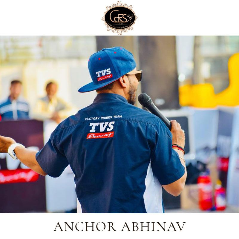 Looking For An Amazing Anchor For Your Event Take A Look At Our Vendor Anchor Abhinav Who Event Management Company Event Organizer Company Event Management