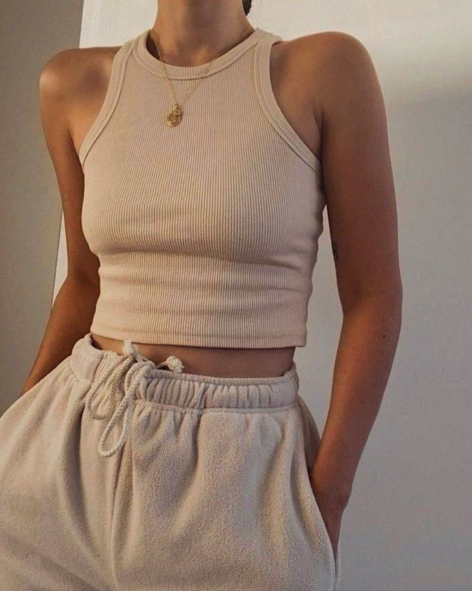 Beige Fashion outfit comfy tan