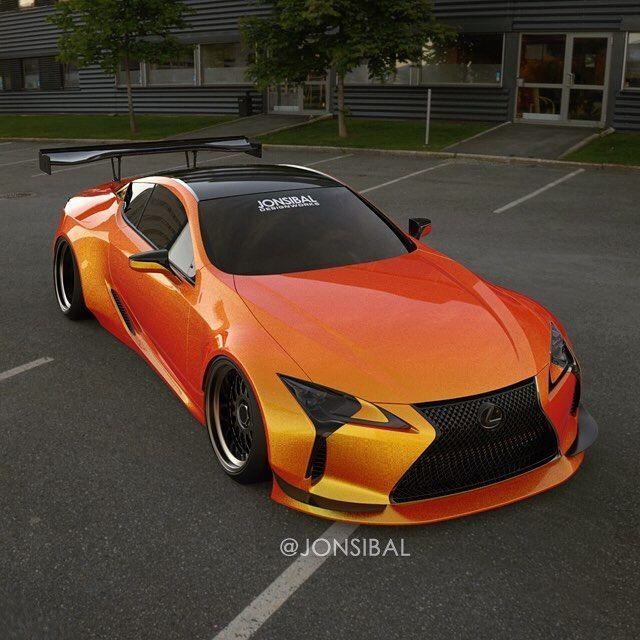 Jonsibal My Widebody Lexus Lc500 Design To Kick Off The 1st Day Of