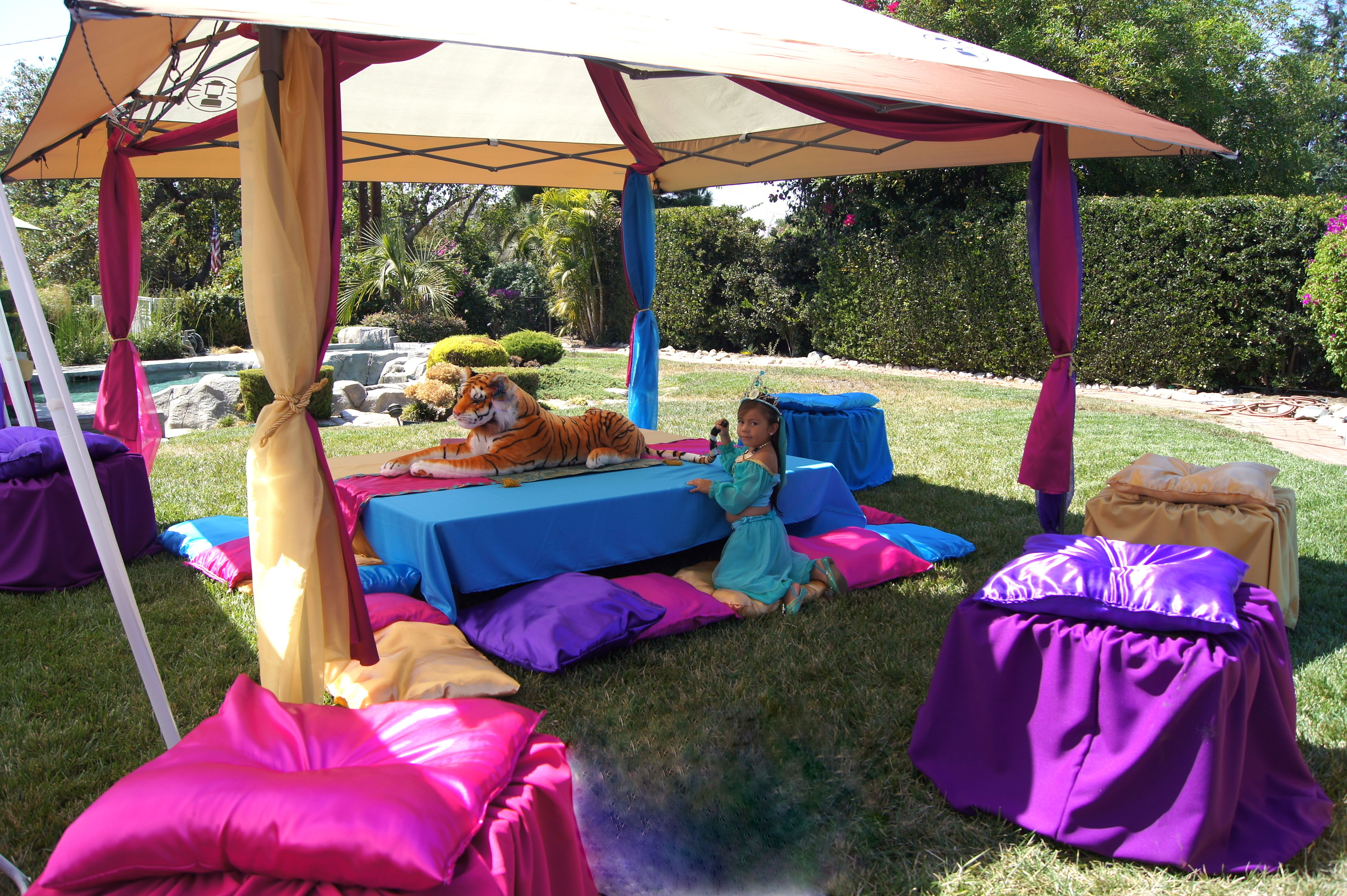 Kasandras Princess Jasmine Arabian Themed Party